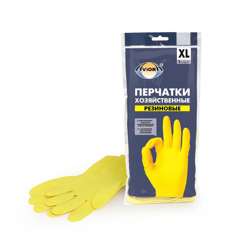 Перчатки хозяйственн�...