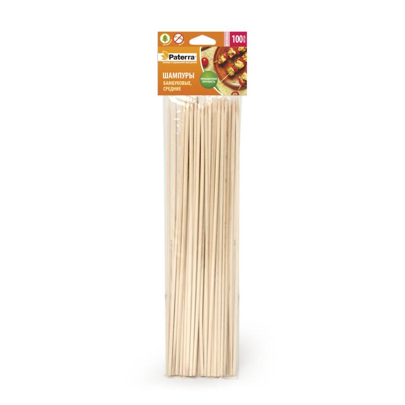 Шампуры бамбуковые, с�...